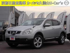 日産 デュアリス 2.0 20G FOUR 4WD ガラスルーフ・キセノンライト・ETC付