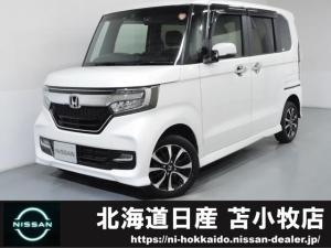 ホンダ N-BOXカスタム カスタム 660 G L ホンダセンシング 4WD インテリジェントキー・プライバシーガラス