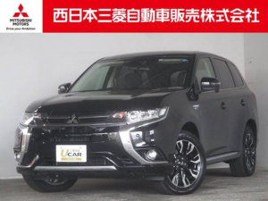 三菱 アウトランダーPHEV G リミテッド エディション 4WD 距離無制限保証3年付