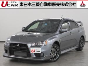 三菱 ランサー ファイナルエディション オーディオレス 走行3,681キロ!