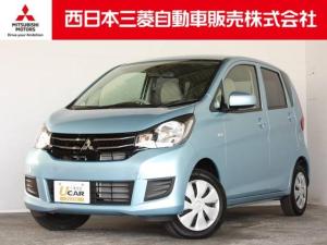 三菱 eKワゴン E 距離無制限保証3年付 オーディオレス車 シートヒーター付
