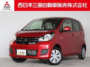 三菱 eKワゴン M eアシスト 距離無制限保証3年付 オーディオレス車