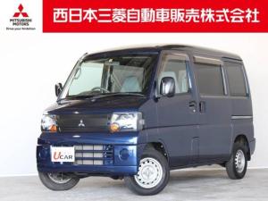 三菱 ミニキャブバン CD ハイルーフ 距離無制限保証1年付 5速マニュアル車