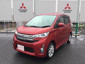 三菱 eKカスタム 660 G 4WD 純正ナビTV 宮城三菱認定中古車