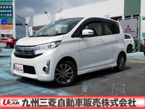 三菱 eKカスタム 660 G eアシスト 追突軽減ブレーキ付・バックカメラ付