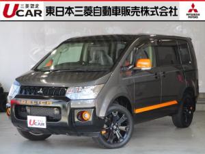 三菱 デリカD:5 2.2アクティブギアDT 4WD 禁煙車 ナビ 後席モニター