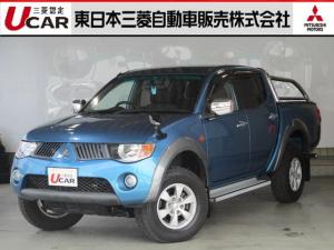 三菱 トライトン 3.5ガソリン 4WD 禁煙車 スタイリング/リアバー付き
