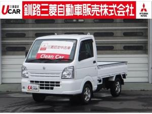 スズキ キャリイトラック 660 KC パワステ 3方開 4WD