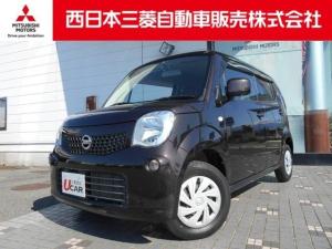 日産 モコ S PUSHスタート・ベンチシート・CDチューナー