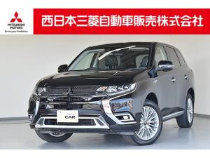 三菱 アウトランダーPHEV Gプラスパッケージ 禁煙車・AC100V電源(1500W)・純正ナビ
