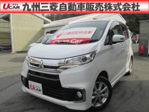 三菱 eKカスタム G ナヒ シートヒーター アイドルストップ