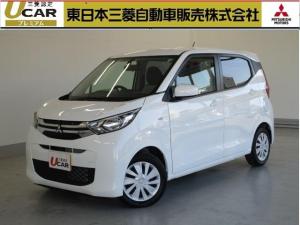 三菱 eKワゴン M サイド&カーテンエアバック アイドリングストップ CD 運転席・助手席シートヒーター 社有車UP