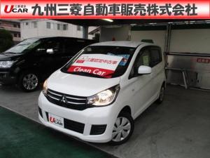 三菱 eKワゴン M e-アシスト シートヒーター衝突軽減ブレーキ
