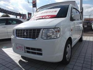 三菱 eKワゴン MX 4速AT・ブラック内装・本革巻ステアリング