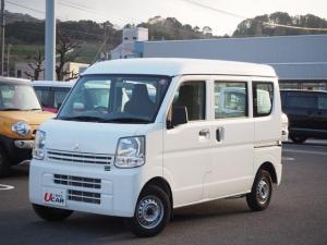 三菱 ミニキャブバン M 両席エアバック エアバック PS エアコン ETC ABS デュアルスライドドア 1オーナー