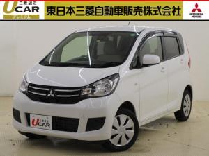 三菱 eKワゴン M e-アシスト 三菱純正ナビ/踏み間違い防止/禁煙車