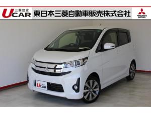 三菱 eKカスタム T ターボ車 メモリーナビ バックカメラ