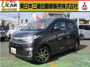 三菱 eKカスタム Tセーフティパッケージ ターボ ナビ カメラ 衝突軽減ブレーキ