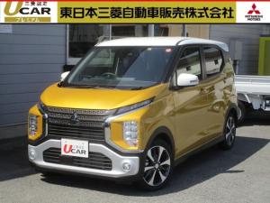 三菱 eKクロス T サポカーS 未使用車 安全・快適PKG