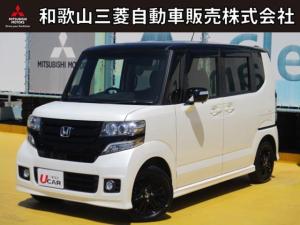 ホンダ N-BOXカスタム G・Lパッケージ 展示拠点 中島 車検整備付