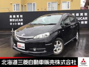 トヨタ ウィッシュ 1.8X ナビ フルセグTV ETC エンジンスターター 3列シート