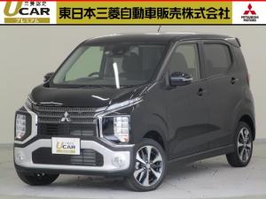 三菱 eKクロス T 届出済み未使用/先進安全/先進快適/タ-ボHV