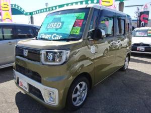 ダイハツ ウェイク X SA ワンオーナー車・純正ナビ・スターター