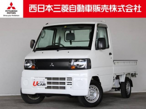 三菱 ミニキャブトラック Vタイプ 距離無制限保証1年付 エアコンパワステ