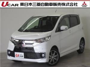 三菱 eKカスタム Tセーフティパッケージ 2WD・アイドリングストップ