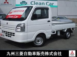 スズキ キャリイトラック KCエアコン・パワステ 4WD マニュアルエアコン パワステ付 切替式4WD 運転席エアバック