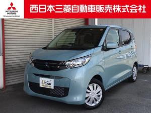 三菱 eKワゴン M 距離無制限保証3年付 メモリーナビ付