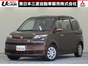 トヨタ スペイド F /1.5L/2WD/助手席側電動スライドドア/純正ナビ/バックカメラ/スマ-トキ-/プライバシーガラス/電動格納ドアミラー/リヤワイパー/ダークブラウンマイカメタリック/1年間三菱認定中古車保証