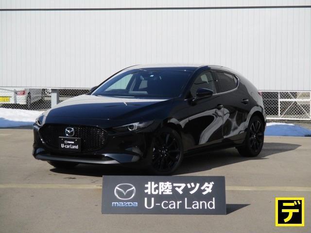 ☆当社販売可能地域☆ 北陸・東海・関東・甲信越・関西 新世代エンジンのMAZDA3デモアップ車が入荷いたしました。