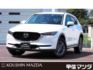 マツダ CX-5 2.5 25S Lパッケージ 4WD 皮シート・バックモニター・17インチアル