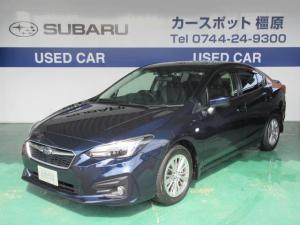 スバル インプレッサG4 1.6i-L アイサイト SD地デジナビ ETC 認定中古車