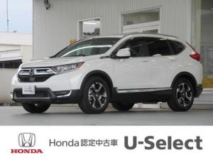 ホンダ CR-V EX・マスターピース デモカー・ナビリヤカメラ衝突軽減ブレー