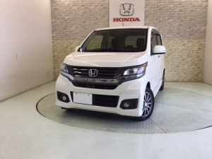 ホンダ N-WGNカスタム G 純正CDデッキ HID