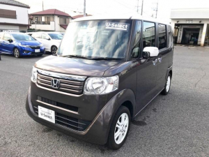 ホンダ N-BOX 2トーンカラースタイル G・Lパッケージ ワンオナ当社新車販
