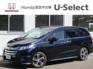 ホンダ オデッセイ アブソルート・EX 4WD ワンオーナー 社外ナビ