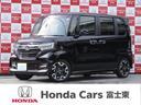 ホンダ/N-BOXカスタム G・Lターボホンダセンシング 元試乗車シートヒーターナビBカ