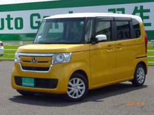 ホンダ N-BOX G・Lホンダセンシング 社外ナビ ワンセグ 片側電動スライド ツートンカラー