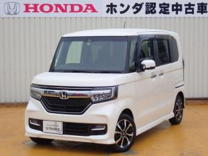 ホンダ N-BOXカスタム G・Lホンダセンシング 衝突被害軽減ブレーキ 純正ナビ