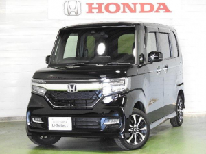 ホンダ N-BOXカスタム G・Lホンダセンシング ナビ リアカメラ センシング 4WD