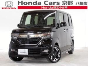 ホンダ N-BOXカスタム G・Lターボホンダセンシング 社用車 ナビ ETC アルミ