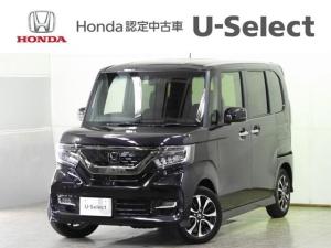 ホンダ N-BOXカスタム G・EXホンダセンシング 衝突軽減B Mナビ LEDヘッドラ