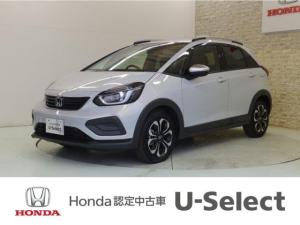 ホンダ フィット e:HEVクロスター Honda SENSING・LEDヘッドライト