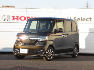 ホンダ N-BOXカスタム G・Lホンダセンシング 当社試乗車 純正8インチナビ Bluetooth ETC