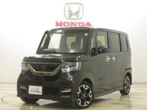 ホンダ N-BOXカスタム G・EXターボホンダセンシング スーパースライドシート ナビ Bカメラ