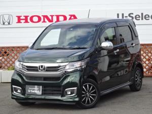 ホンダ N-WGNカスタム G・ターボパッケージ ワンオーナー車 社外ナビ ETC車載器