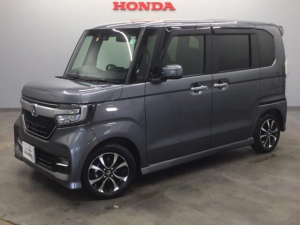 ホンダ N-BOXカスタム G・Lホンダセンシング 当社デモカー 8インチナビ ドラレコ